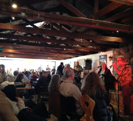 Our Coffeehouse Concerts (with you in them!) are just part of the many chances you'll have to showcase your songs – old and new.