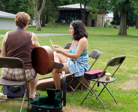 Cowriting at SummerSongs East
